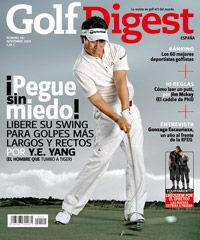 Portada de la revista Golf Digest