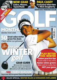 Portada de la revista Golf Monthly