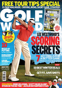 Portada de la revista Golf World