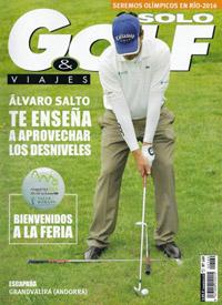 Portada de la revista Solo Golf & Viajes