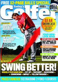 Portada de la revista Today's Golfer