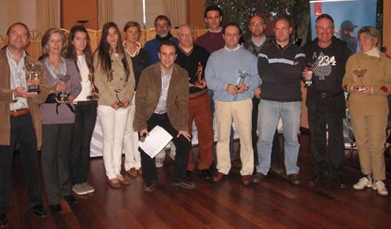 Entrega de premios en el Trofeo Aniversario de Alicante Golf