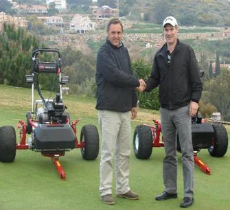 Antonio Pineda y Simon Doyle