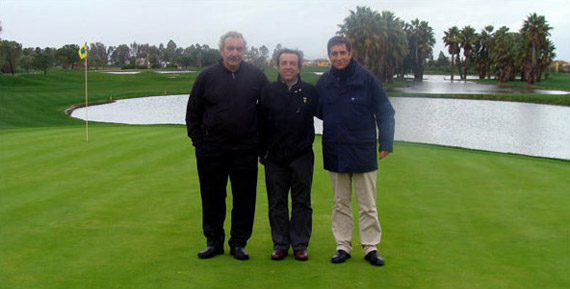Richard Stillwell, Patrick Allende y Miguel Vidaor