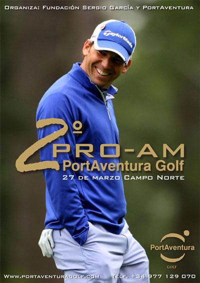 Cartel del 2º Pro-Am PortAventura Golf