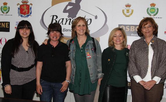 Marta Martín del Castillo, María Martín, Mercedes Milá, Marisa Sauras y Paloma Enríquez (foto de Fernando Herranz)