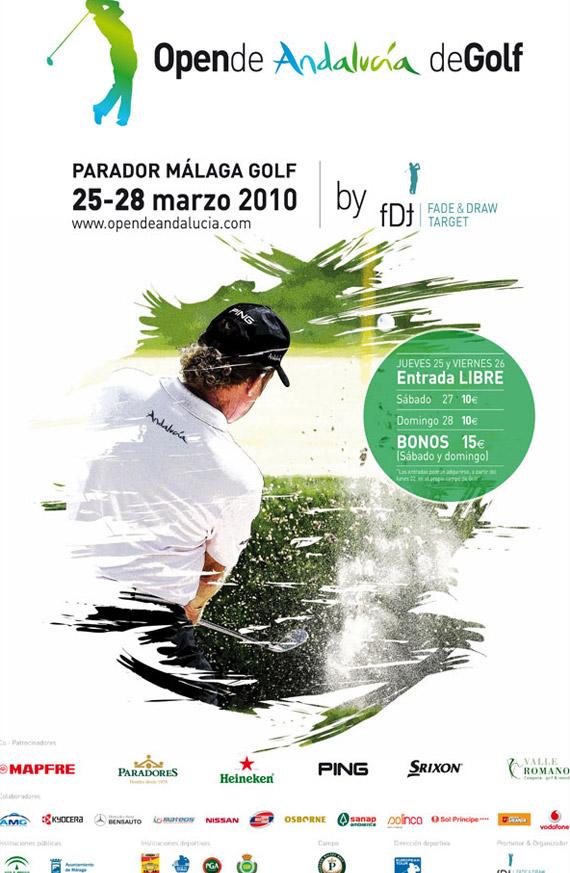 Cartel del Open de Andalucía 2010