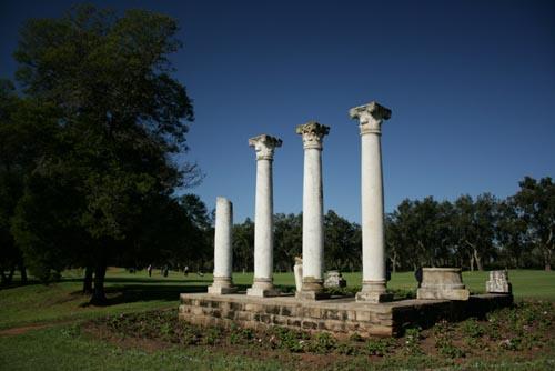 Columnas del  Royal Dar es Salam Red Course