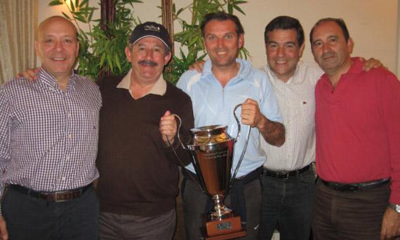 Javier Ballester, Miguel Troyano, Jose A. Mena, Ignacio Oslé y Pepe Acosta