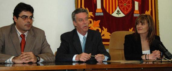 César de la Puente, Ignacio Guerras y Carmen Guijorro