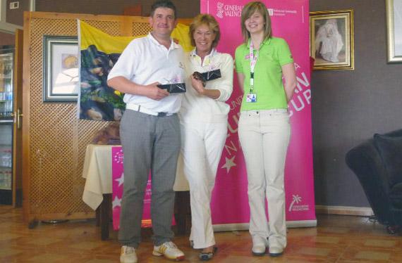 Eva Vander Ploeg y Vicente José Ferrer, ganadores en Don Cayo