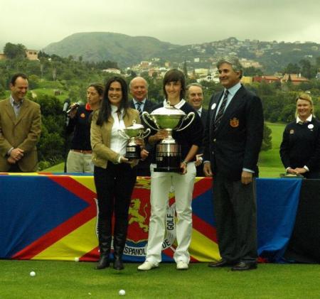 Lucie Andre, ganadora de la Copa de la Reina 2009