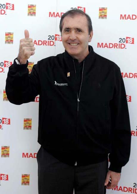 Severiano Ballesteros apoya la candidatura de Madrid 2018