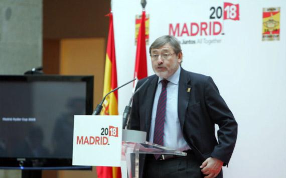 Jaime Lissavetzky expresa el apoyo del Gobierno a la candidatura