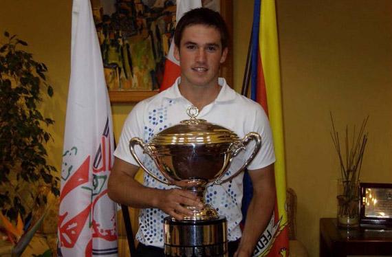 Matthew Haines, ganador de la Copa de S.M. El Rey 2010