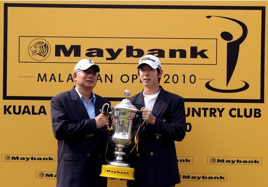 Seung yul Noh ganador del Maybank Malaysian Open