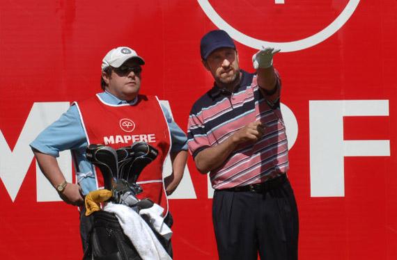 José María Olazábal en el Open de Andalucía 2008 (foto de Jorge Andréu)