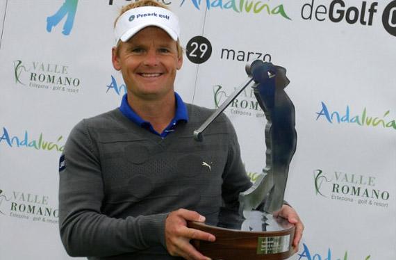 Soren Kjeldsen, ganador del Open de Andalucía 2009 (foto de Jorge Andréu)