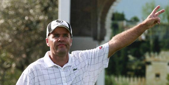 Thomas Levet en el Open de Andalucía 2008 (foto de Jorge Andréu)