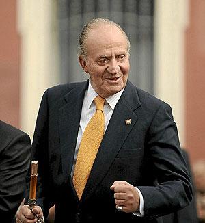 Don Juan Carlos I Presidente de Honor del Open de España 2010