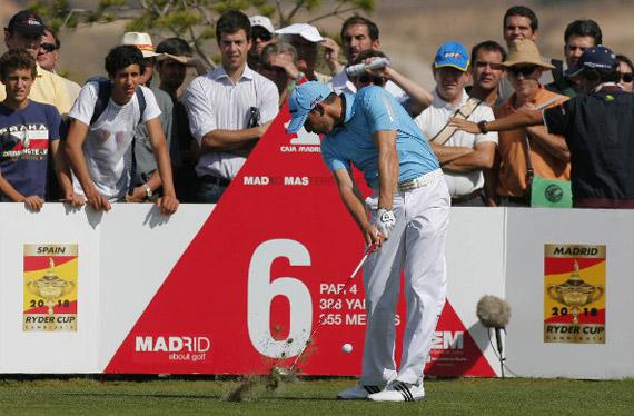 Sergio García en el Madrid Masters 2009 (foto de Jorge Andréu)
