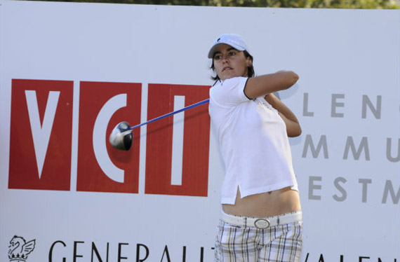 Tania Elósegui, jugadora del equipo español