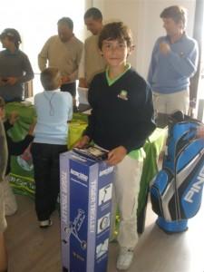 Premios gentileza de Baviera golf