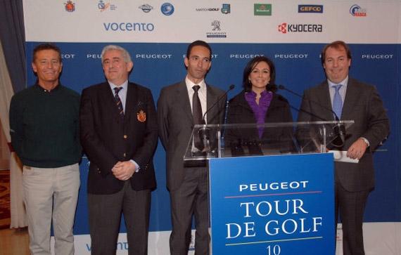 De izquierda a derecha: Alessandro Rogato, Gonzaga Escauriaza, Stephane Levi, Isabel Gemio y Javier Gervás (foto de Luis Corralo)