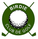 Logotipo de Birdie Club de Golf
