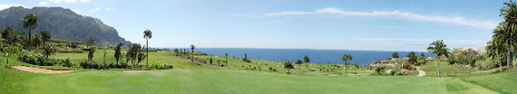 Green del hoyo 2 de Buenavista Golf (foto de Felipe Pérez)