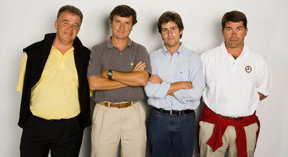 El equipo de comentaristas de Canal+ Golf