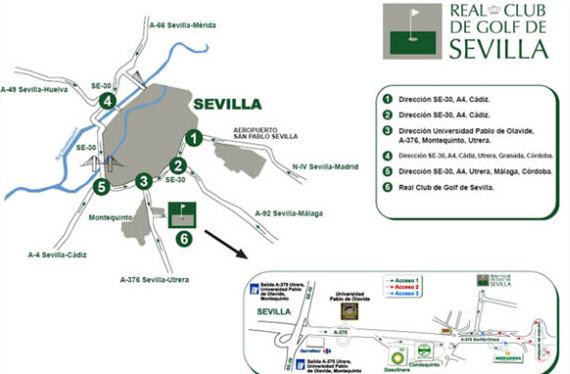 Cómo llegar al Real Club de Golf de Sevilla