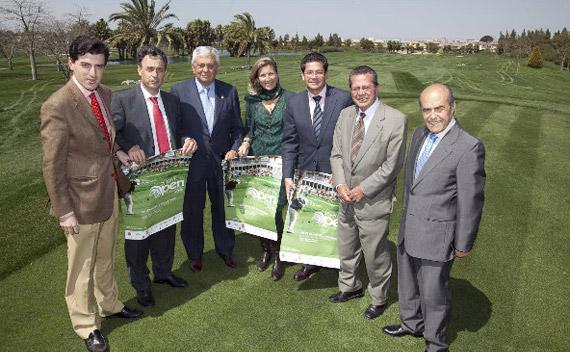 Los empresarios sevillanos dan su apoyo al Open de España