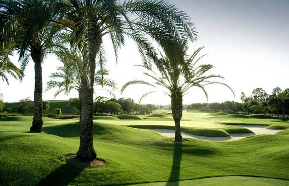 El Real Club de Golf de Sevilla, a punto para el Open de España