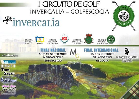 Cartel del Circuito Invercalia-Golfescocia