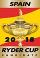 Logotipo de la candidatura Ryder Cup 2018