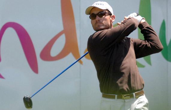 Nacho Garrido rozó el triunfo en el Open de España 2008 (foto de Luis Corralo)