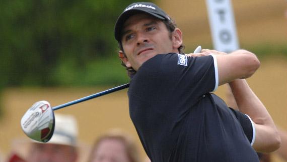 Carlos Rodiles en el Open de España de 2008 (foto de Luis Corralo)