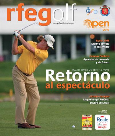 Número 71 de la revista RFEGolf