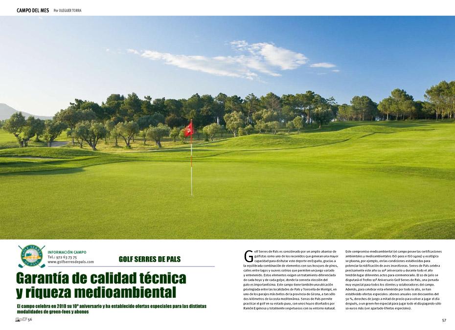 Reportaje del Golf Serres de Pals en Solo Golf & Viajes 173
