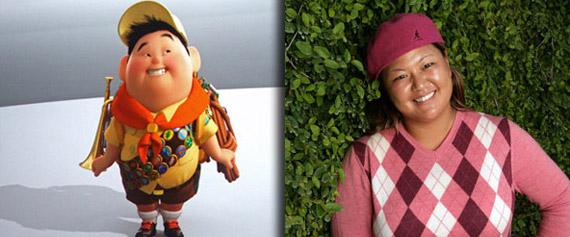 Cristina Kim – Russell (de la película Up)