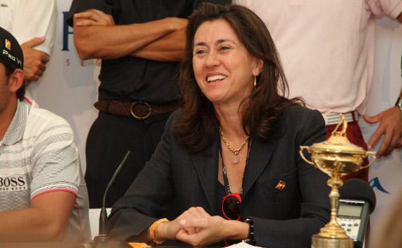 Angeles Alarcó, consejera delegada de Turismo de Madrid (foto de Fernando Herranz)