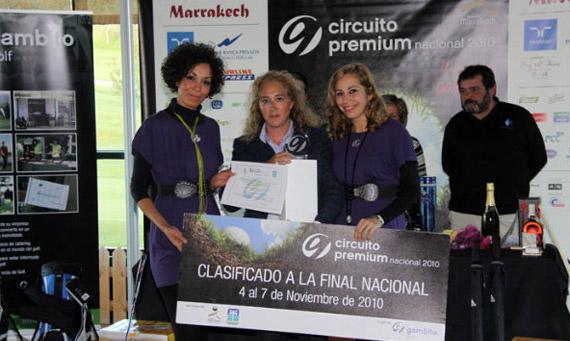 Montserrat Rodríguez, ganadora en segunda categoría