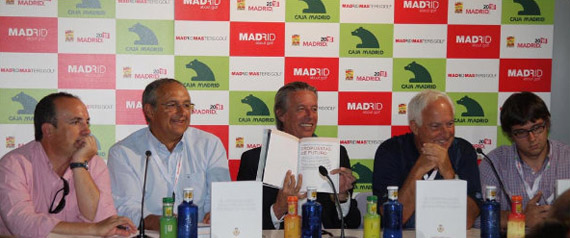 Presentación del Libro Blanco del Golf de la Federación de Golf de Madrid (foto de Fernando Herranz)