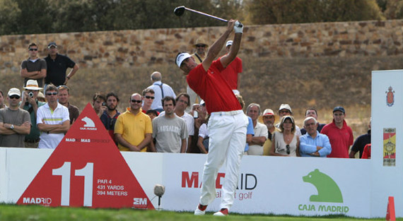 El campeón del Open de España, a por todas en Madrid