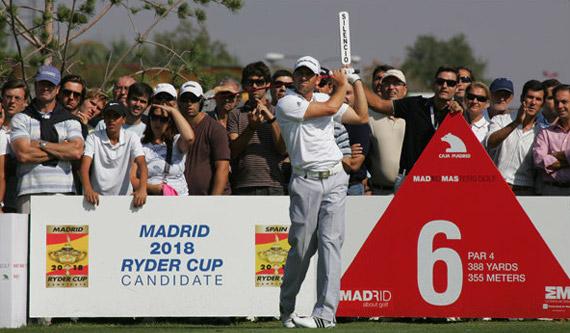 Sergio García lucha por seguir siendo el mejor español en el ranking mundial
