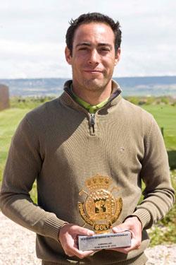 Rodrigo Cuadrado, campeón en Cabanillas (foto: Gnews)
