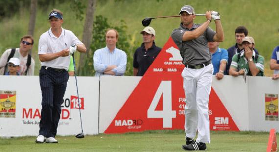 Sergio García y Luke Donald, la cara y la cruz del torneo (foto de Fernando Herranz)