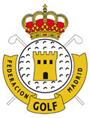Logotipo de la Federación de Golf de Madrid (pequeño)