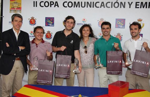 Ganadores II Copa Comunicación y Empresas mes de junio